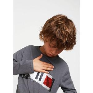 T-shirt sequins réversibles MANGO KIDS