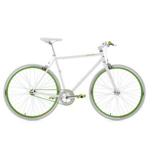 Vélo fitness fixie 28'' Flip Flop blanc-vert 53 cm KS Cycling KS