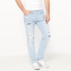 Slim jeans met scheuren Kimbo, lengte 34 KAPORAL 5