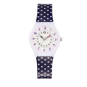 Montre fille analogique bracelet plastique boitier 29 mm Printanière LULU CASTAGNETTE