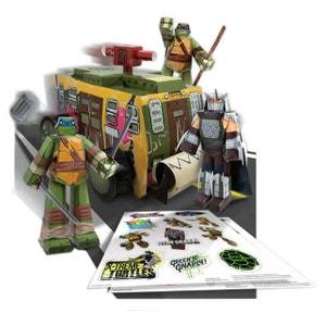 Les Tortues ninja - Set Papercraft Shellraiser Vehicle Pack JAZWARES