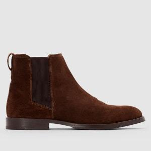 Boots croûte de cuir R essentiel