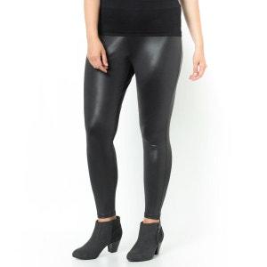 Legging long noir laqué CASTALUNA
