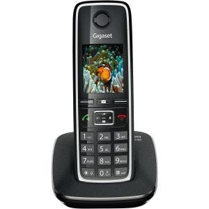 Téléphone sans fil GIGASET C530 Noir GIGASET