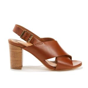 Sandales cuir vachette ANTIGONE ANTHOLOGY PARIS