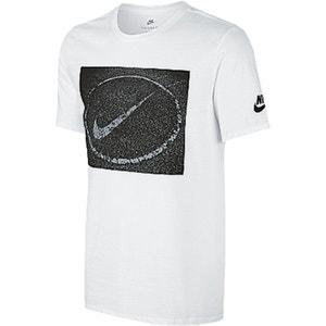 T-shirt met ronde hals en bedrukt motief NIKE