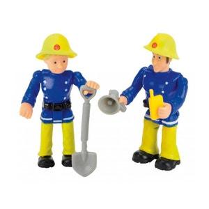 Sam le Pompier - Modèle Aléatoire 2 Figurines 7 cm - SMO109257651002 SMOBY