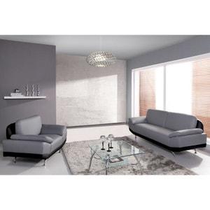 Canapé fixe Ottawa : 3 places + fauteuil RELAXIMA