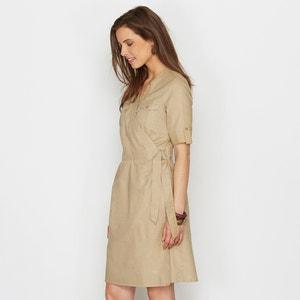 Платье с преобладанием льна ANNE WEYBURN