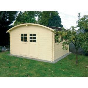 "Abri jardin ""Dainville 2"" - 14.52 m² - 4.11 x 3.53 x 2.30 m - 28 mm H&j habitat et jardin"