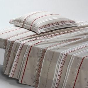 TYROL Cotton Flat Sheet La Redoute Interieurs