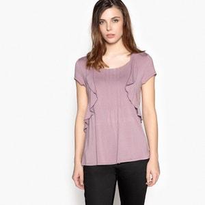 T-Shirt mit Volants und Biesennähten ANNE WEYBURN