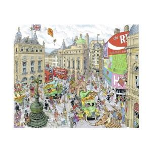Puzzle 1000 pièces : c'est le cirque à Londres ! RAVENSBURGER