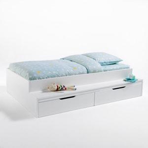 Lit plateforme avec banc et tiroirs Yann La Redoute Interieurs