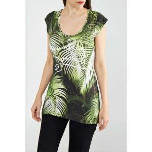 Tee Shirt Franklin&marshall Tswal682s14 Imprime Femme FRANKLIN ET MARSHALL