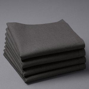 Servilleta de mesa de retor lino/algodón BORDER La Redoute Interieurs