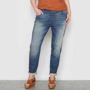 Jeans boyfriend em malha CASTALUNA