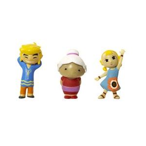 Micro figurines Nintendo : Link, Mémé et Arielle ABYSSE CORP