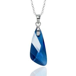 Collier BISHOJO Angel SWAROVSKI ELEMENTS Argent 925 Bleu Capri SWAROVSKI ELEMENTS