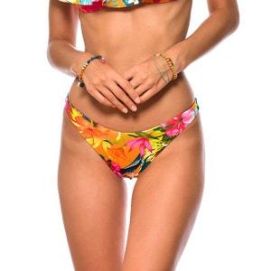 Bas de maillot de bain Tanga Reversible Tropisun Paea Orange BANANA MOON