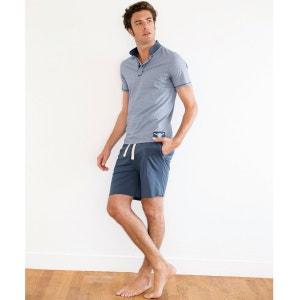 Pure Cotton Jersey Short-Sleeved Short Pyjamas R essentiel
