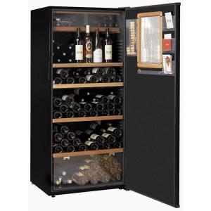 Cave à vin de service - 3 temp. - 203 bouteilles - Noir - ACI-CLI566-2 CLIMADIFF