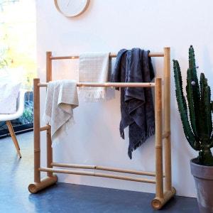 Porte serviette de salle de bain bambou Balyss TIKAMOON