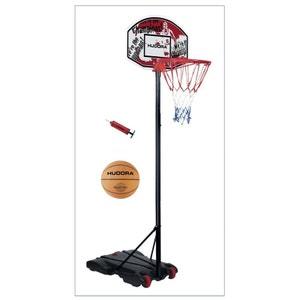 Hudora 71654 Panier de basket pour enfants avec Ballon et pompe. HUDORA
