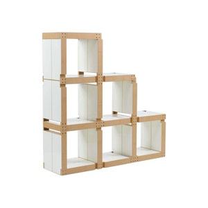 meuble modulable la redoute. Black Bedroom Furniture Sets. Home Design Ideas