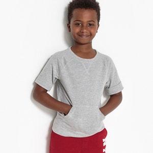 Short-Sleeved Sweatshirt, 3-12 Years La Redoute Collections