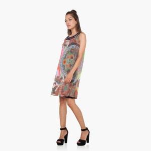 Short Sleeveless Printed Dress DESIGUAL