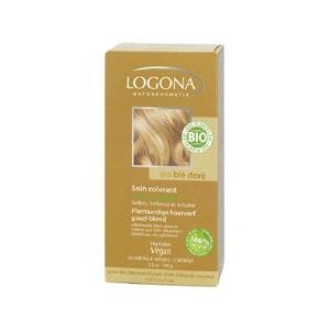 Soin colorant bio 100% végétal Blé doré LOGONA