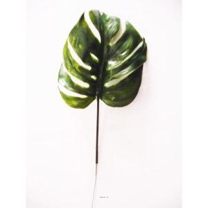 Feuille de Philodendron X12 H 39 cm Plastique pour exterieur D 15 cm Originale ARTIFICIELLES