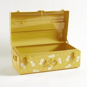 Metalen koffer met ananas motief Masa La Redoute Interieurs