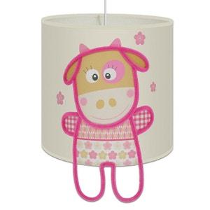 Suspension Lumineuse ' Marguerite la petite vache ' pour chambre de fille ART ET LOUPIOTE