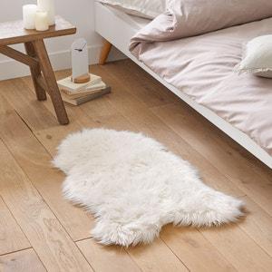 Bedmatje met schapenvacht effect Livio