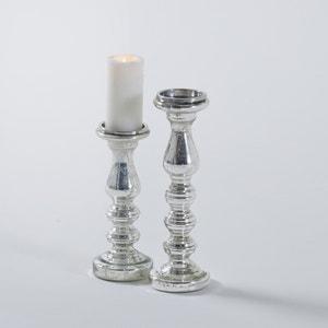 Porta candela, vetro mercurizzato, Elda, confezione da 2 La Redoute Interieurs