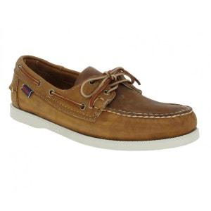 Chaussures bateaux homme SEBAGO Docksides Cuir  Homme Brun SEBAGO