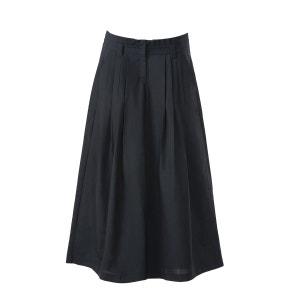 Pantalon en laine décontracté plissé taille haute allonge la silhouette SUNDAY LIFE