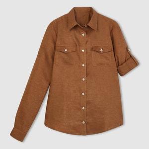 Camicia a maniche lunghe, in puro lino La Redoute Collections