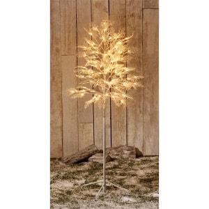 Arbre lumineux extérieur hauteur 0,80 ou 1,50m - 120 Led dont led flash - Blanc chaud - Décoration de Noël ! TARRINGTON HOUSE