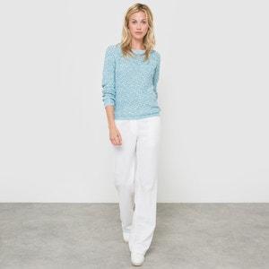 Szerokie spodnie z lnu/bawełny La Redoute Collections