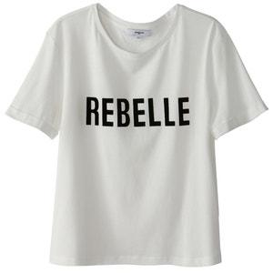 T-shirt con scollo rotondo SUNCOO