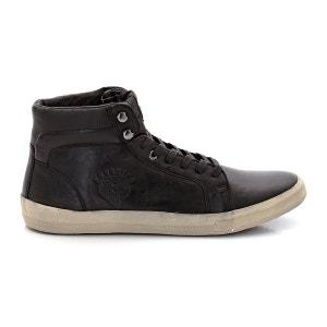 Zapatillas deportivas de caña alta, con cordones, Agosti REDSKINS