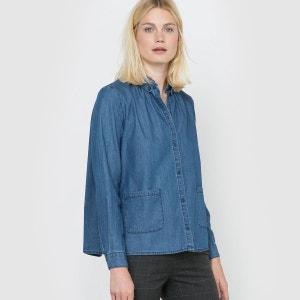 La chemise en jean manches longues R studio