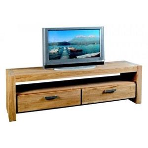Meuble TV 2 tiroirs teck 180cm RIO PIER IMPORT