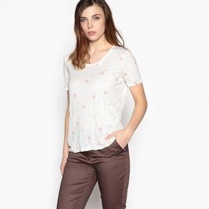 Camiseta estampada de manga corta ANNE WEYBURN