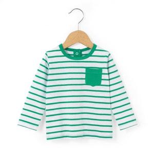 Gestreept T-shirt in bio katoen La Redoute Collections