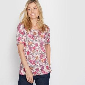 T-shirt fantasia, jersey arricciato ANNE WEYBURN