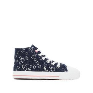 Hoge sneakers met bloemenmotief La Redoute Collections